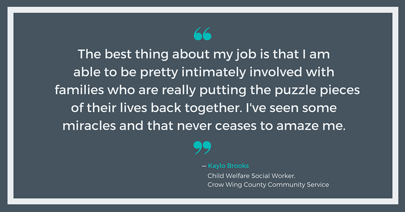 Kaylo Brooks, Crow Wing County