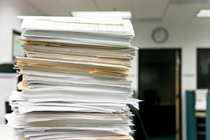 So. Much. Paperwork.