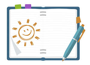 """Tips to practice self-care for social work: Start a """"positivity file"""""""