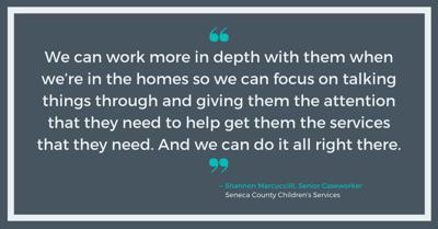 Shannon Marcuccilli, Seneca County Children's Services