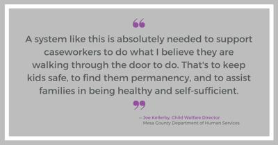 Joe Kellerby, Child Welfare Director 1