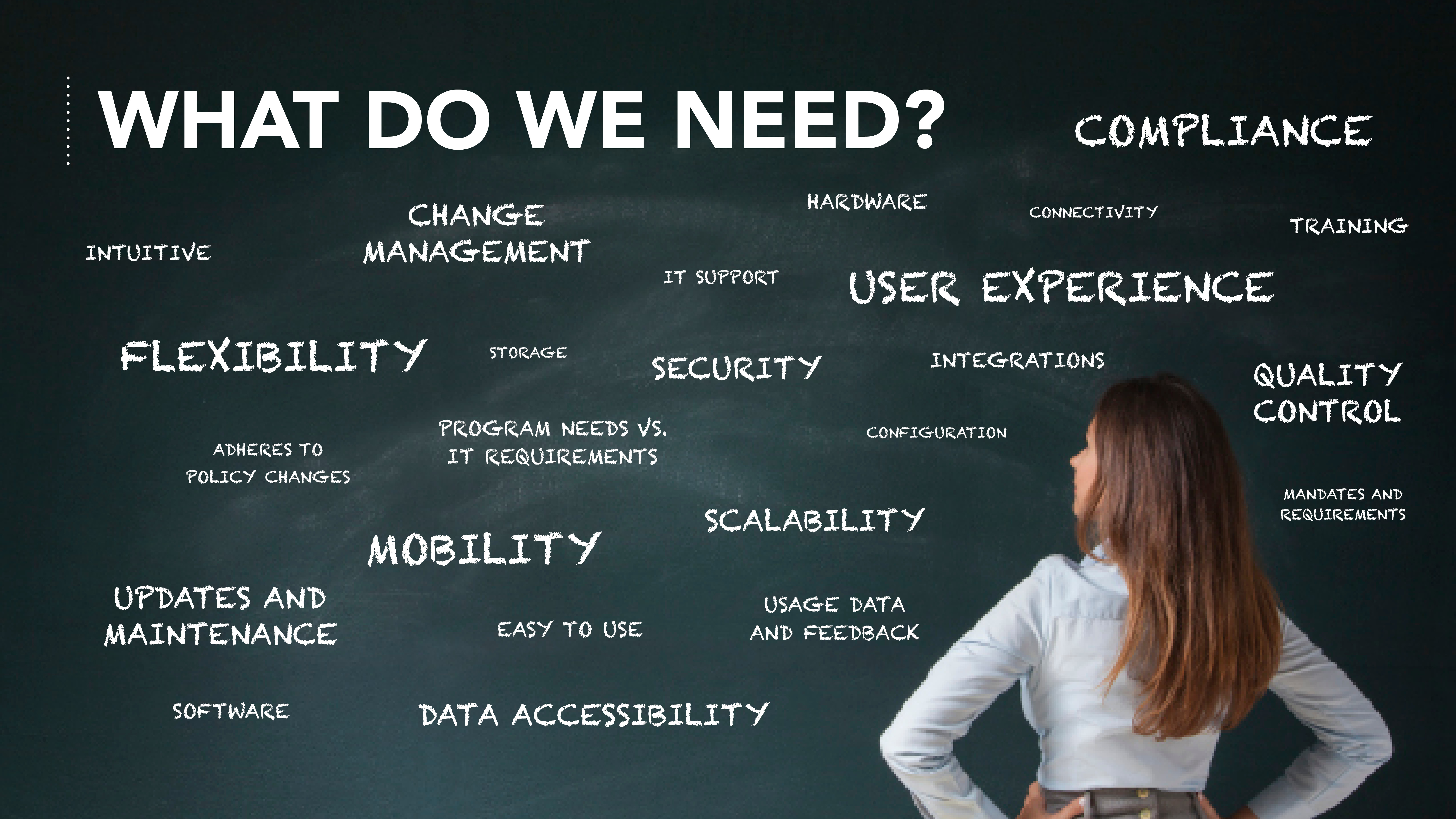 What do you need to successfully build human services technology?