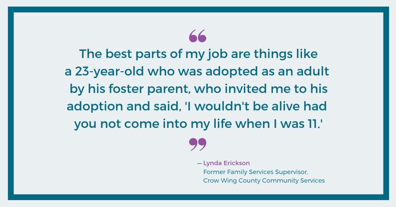 Lynda Erickson, Crow Wing County