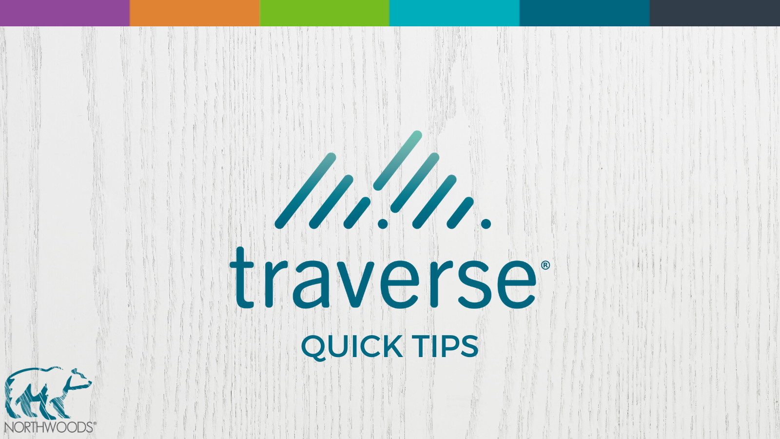 Traverse Quick Tips for Remote Workers
